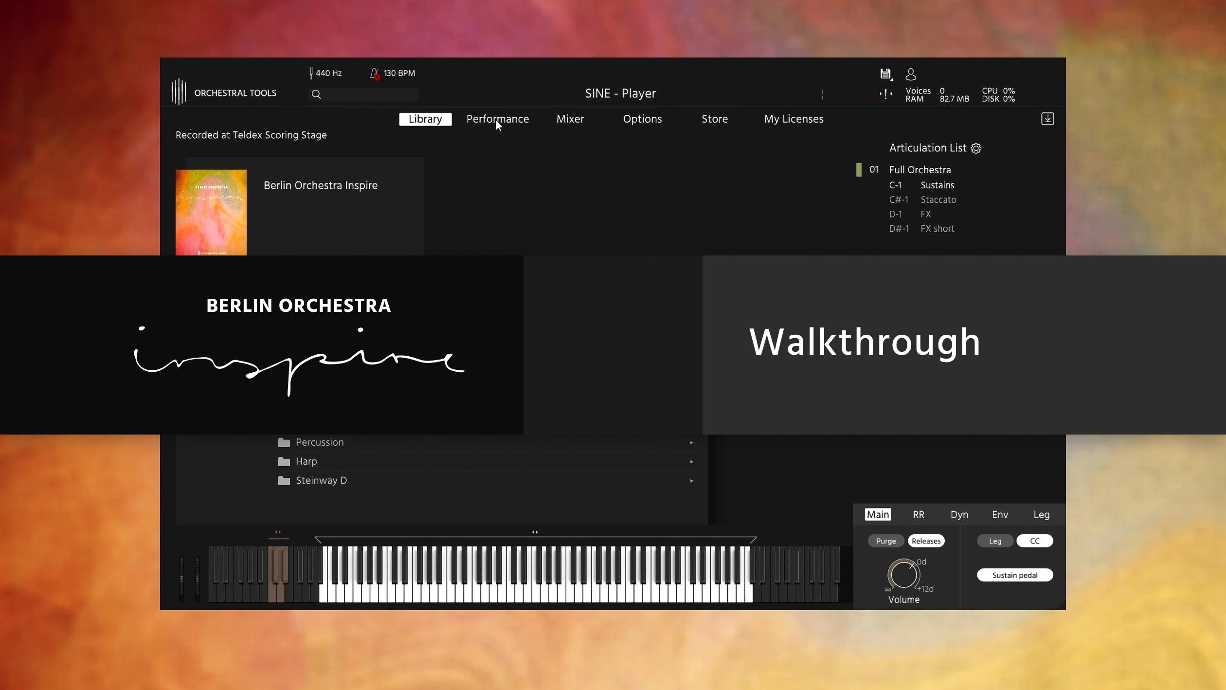 Berlin Orchestra Inspire 1 Screencast