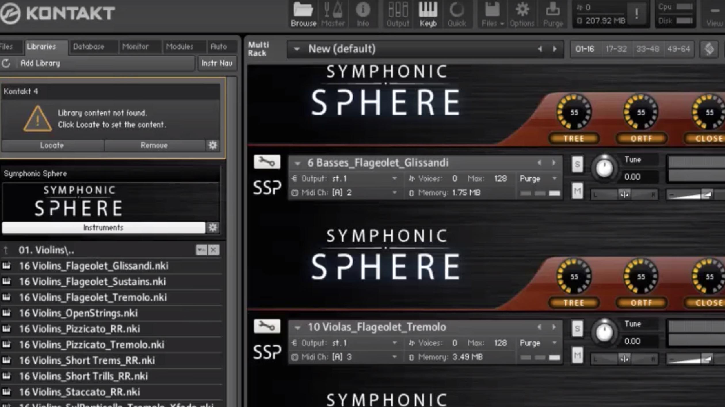 SYMPHONIC SPHERE - Harmonics/Loose/WWs
