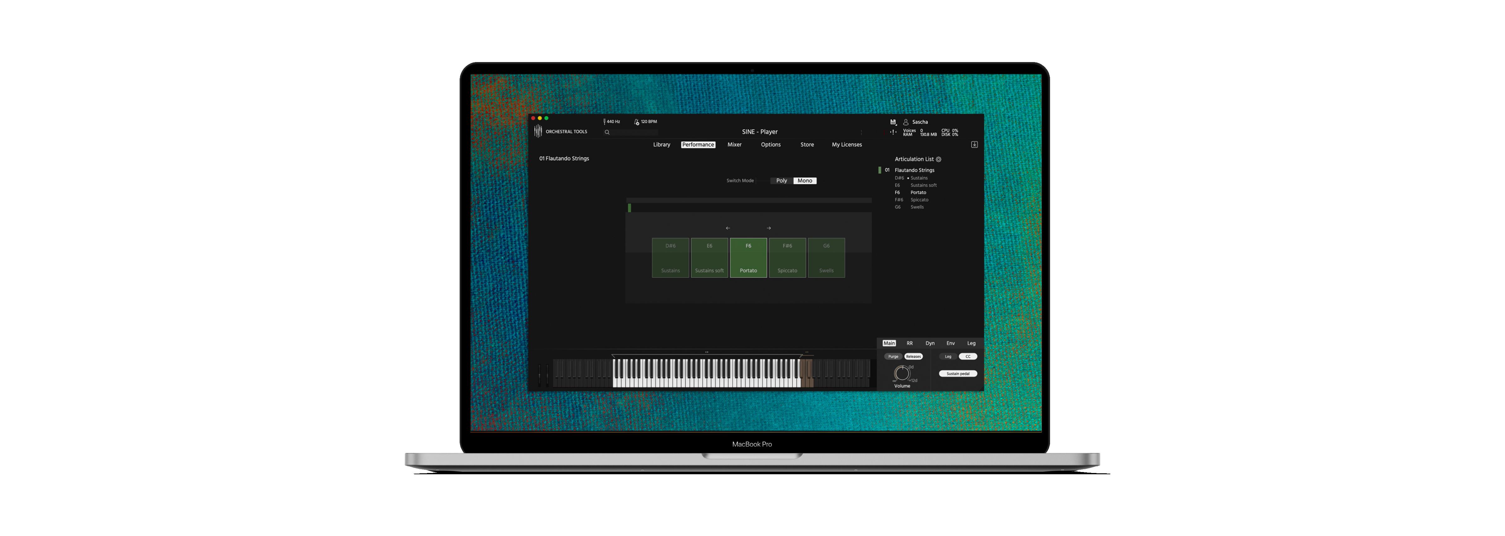 Berlin Orchestra Inspire 1 Laptop