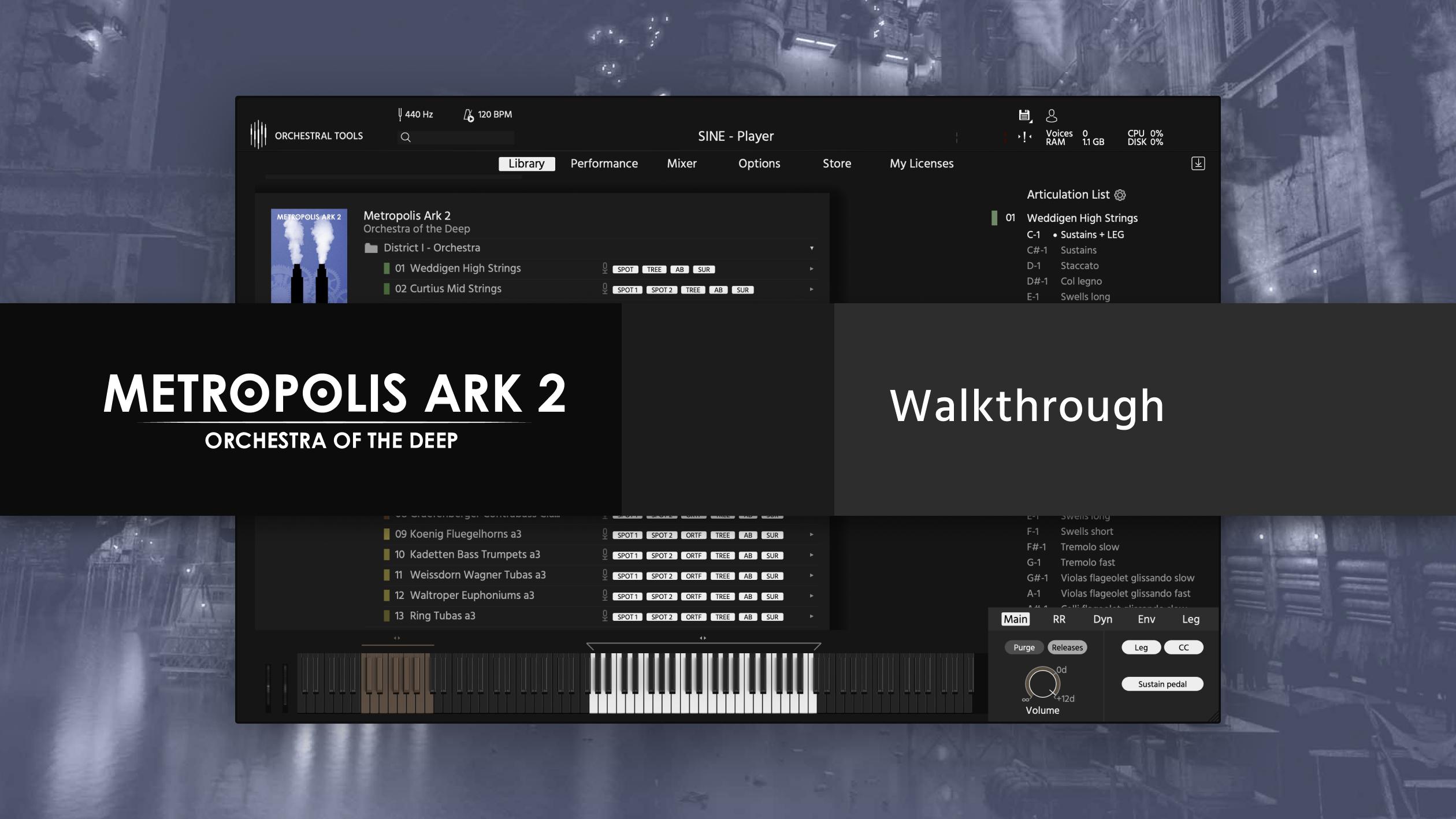 Metropolis Ark 2 SINE walkthrough