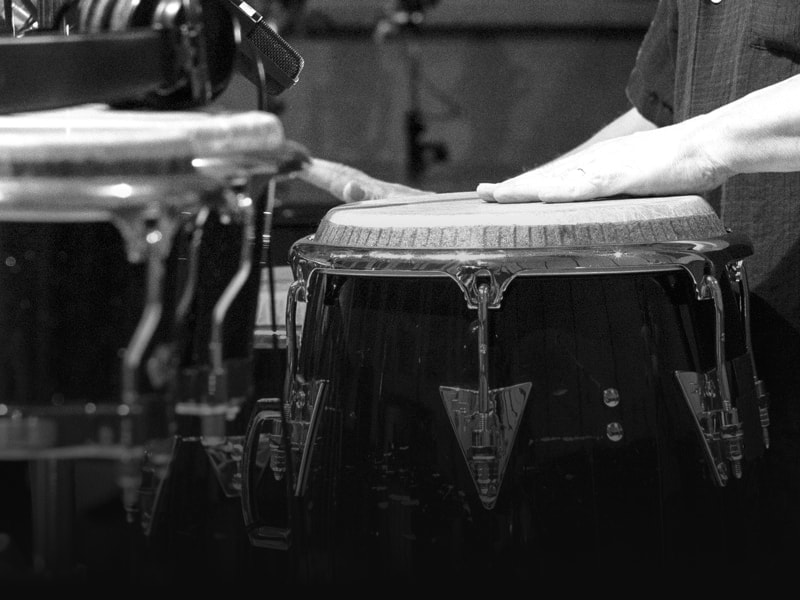 Studio percussion